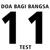 Doa Bagi Bangsa 11 (test)