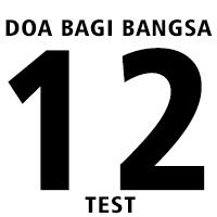 Doa Bagi Bangsa 12 (test)