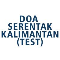 Doa Serentak Kalimantan (test)