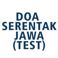 Doa Serentak Jawa (test)